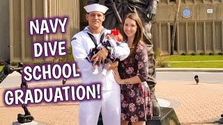 HE'S FINALLY COMING HOME! | NAVY DIVE SCHOOL GRADUATION | Erika Ann