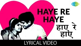 Haaye re Haaye with lyrics | हाय रे हाय गाने के बोल | Humjoli | Jeetendra, Leena Chandravarkar