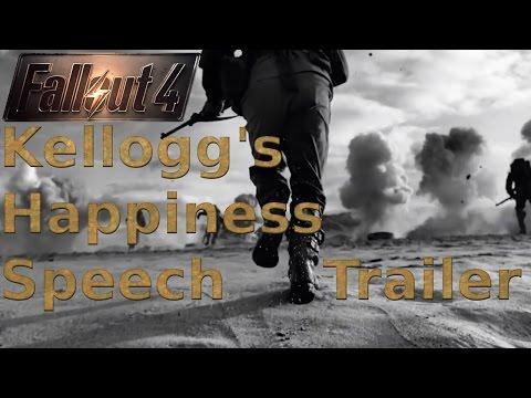 "Fallout 4 New ""Dark"" Trailer (Fan Made) Kellogg's Happiness Speech Inspired"