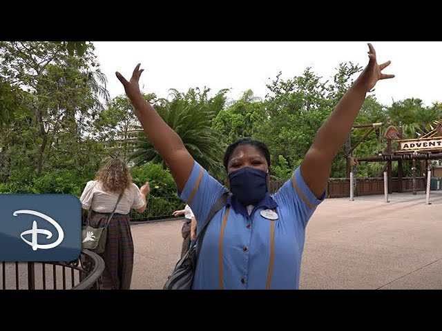 Walt Disney World Cast Members Prepare for Opening with Health and Safety as a Focus