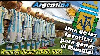 MUNDIAL 2018 - Argentina, una de las favoritas para ganar el Mundial de Rusia