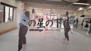 【コンテンポラリーダンス・発表会・群舞】『この星の下で』