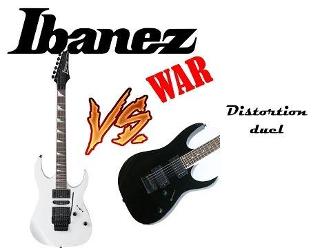 Ibanez wars #1 - Distortion battle (GIO121 Vs. RG370DX)