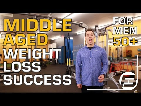 How to Achieve Middle Aged Man Weight Loss Success