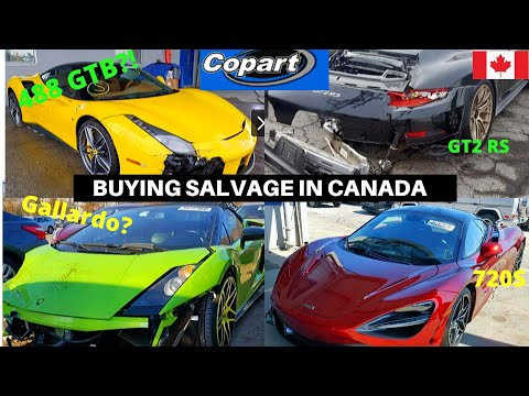 Best Places To Buy SALVAGE Or WRECKED Cars In Canada?