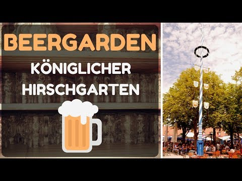 "Beergarden ""Königlicher Hirschgarten"", Munich - Travel Germany [4K]"