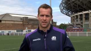 Scotland rugby legend Chris Paterson on the art of the kick off.