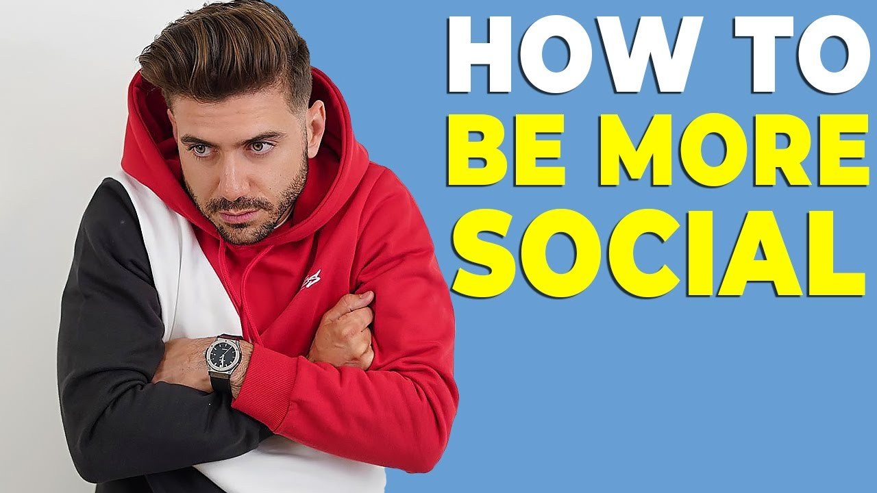 Download HOW TO STOP BEING SHY AND INTROVERTED (BE MORE SOCIAL)   Alex Costa