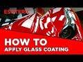 How to apply glass coating to your car. Kamikaze Miyabi Coat