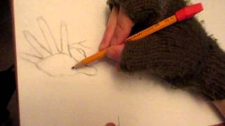 How to draw in foreshortening