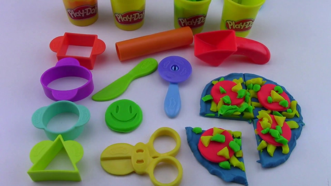 Unboxing Play-Doh Starter Set by Hasbro - YouTube