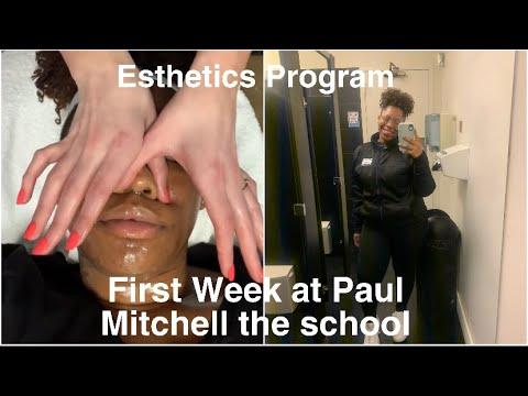 First Week At Paul Mitchell The School | Esthetics Program