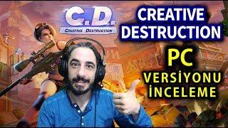 FORTNITE BENZERİ MOBİL OYUN PC'YE GELDİ - CREATIVE DESTRUCTION