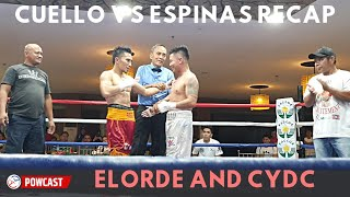 Cuello vs Espinas and Elorde Night of Champions Recap and Results