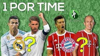Desafio Dos Inscritos: Seleção 1 Jogador Por Time
