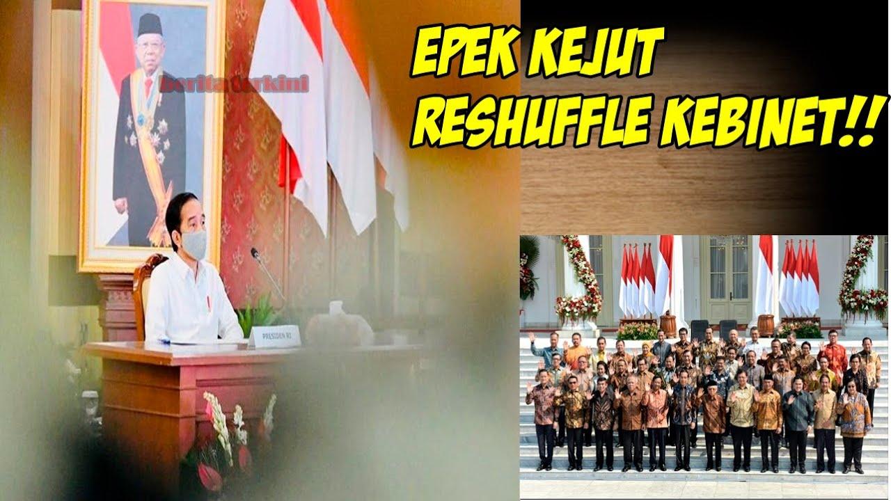 Beginilah Efek Kejut Jokowi,  Reshuffle kebinet Golkar dan PDIP Kebakaran Jenggot!!