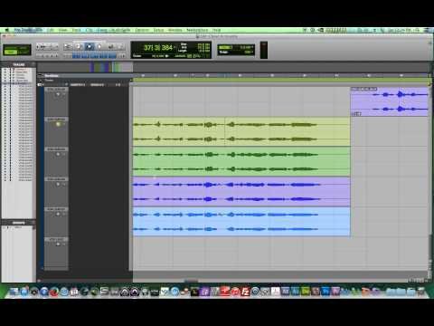 Pro Tools 11 – #16 – Vocal Comping