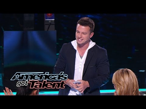 Mat Franco Magician Wows Judges With Card Trick - Americas Got Talent 2014