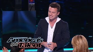 Mat Franco: Magician Wows Judges With Card Trick - America's Got Talent 2014