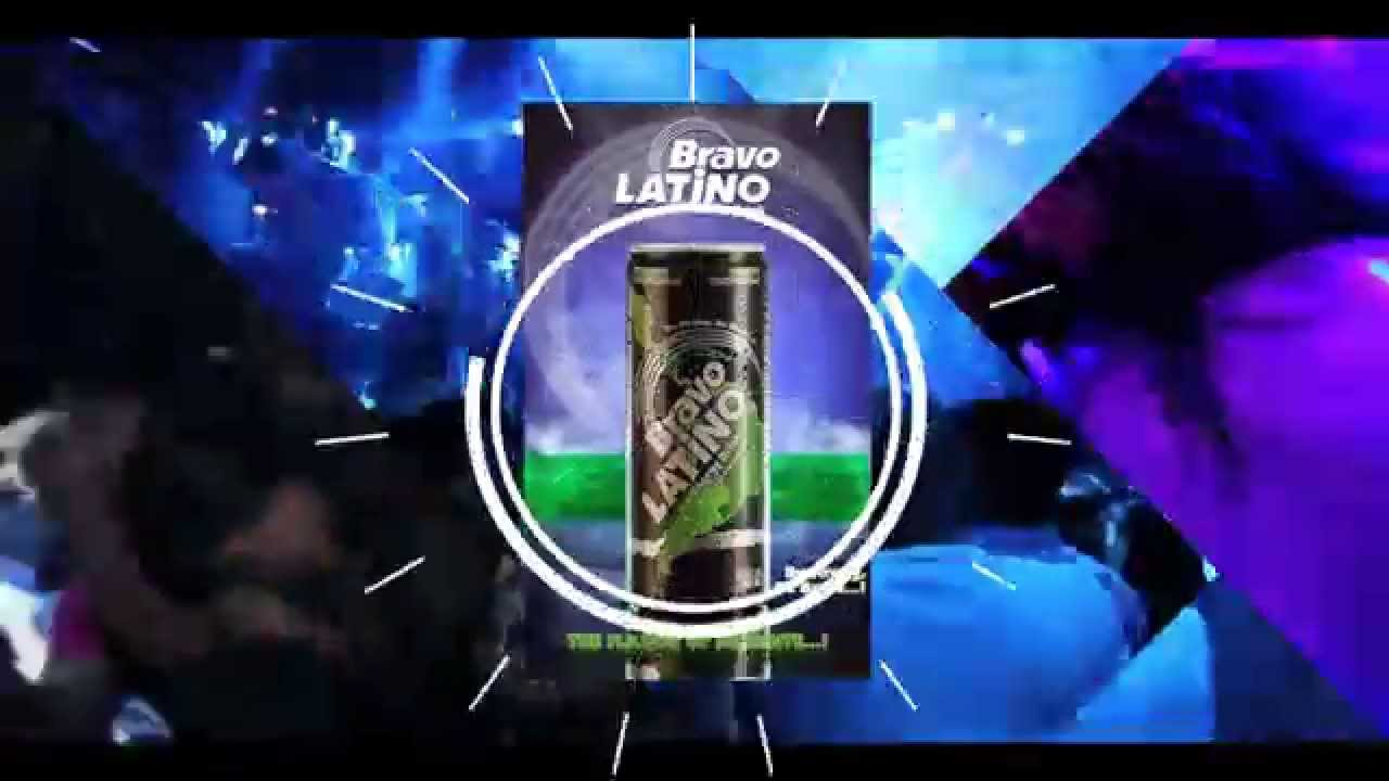 Bravo Latino Energy Drink Promo Youtube