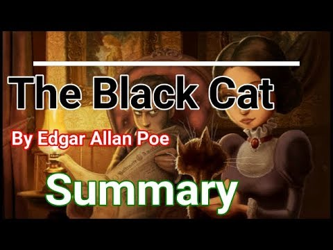 The Black Cat By Edgar Allan Poe Summary Youtube