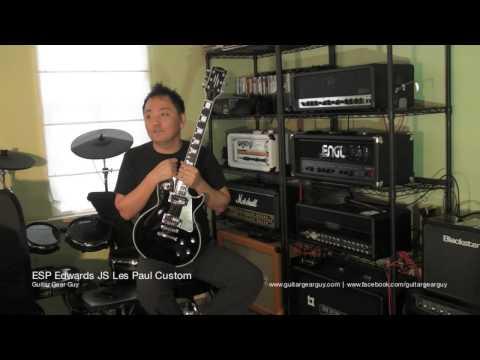 ESP Edwards JS Les Paul Custom