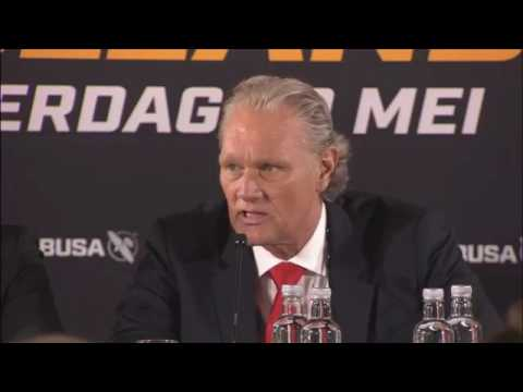 GLORY 41 Holland   Press Conference
