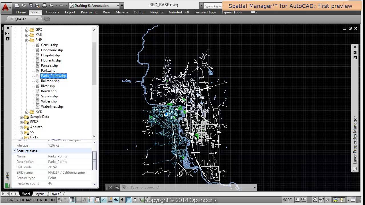 Spatial Manager™ for AutoCAD - Spatial Manager wiki
