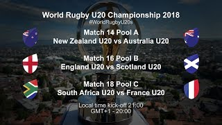 World Rugby U20 Championship Day 3 - New Zealand U20 v Australia U20