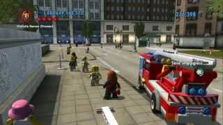 LEGO City Undercover Vehicle Guide - All Emergency Vehicles in Action