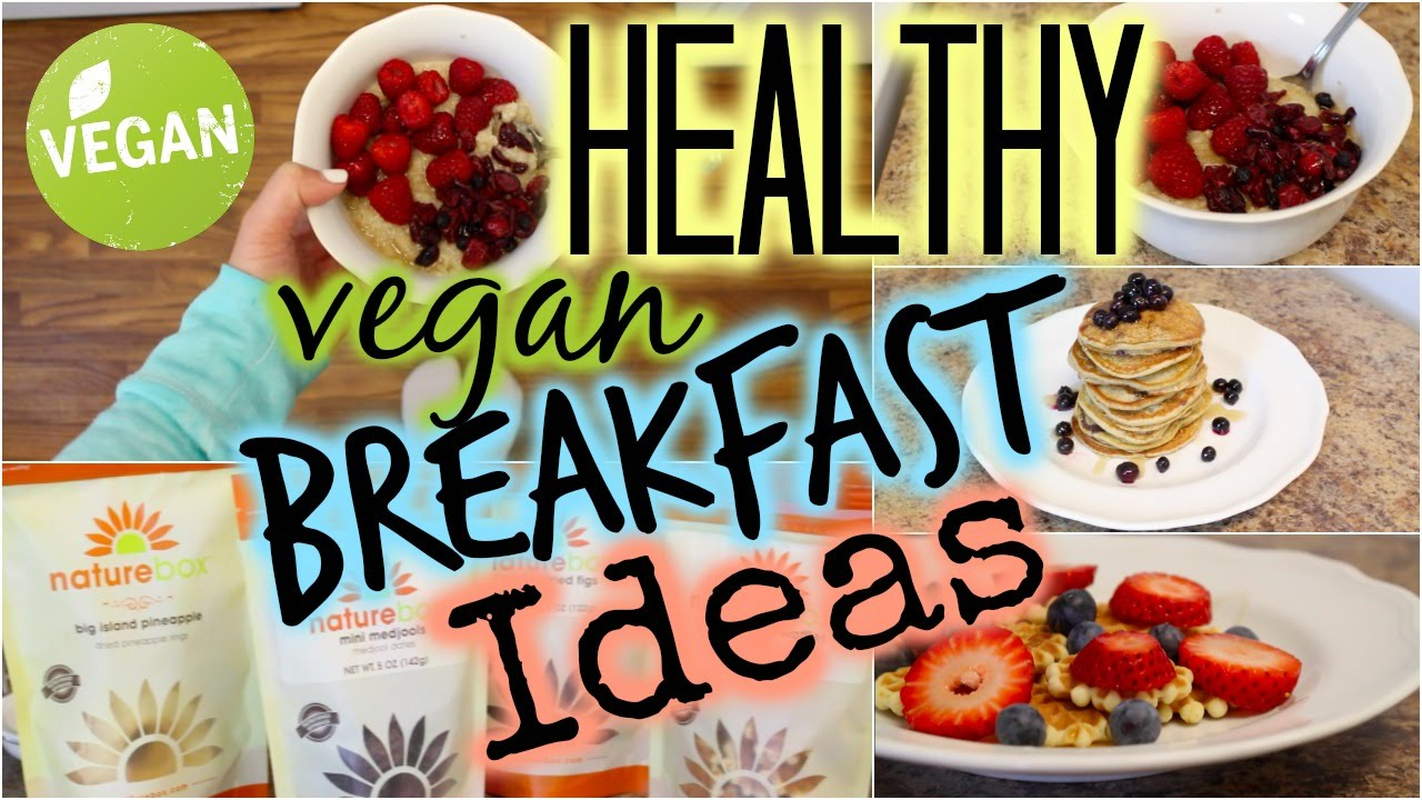 Simple healthy vegetarian breakfast recipes