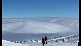 Над облаками на вулкане Эрджиес Above the clouds on Erciyes volcano