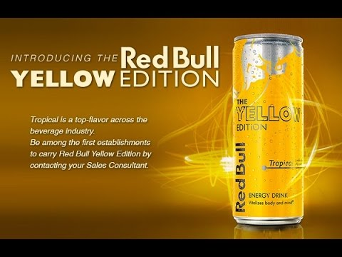 drinktank red bull yellow edition review youtube. Black Bedroom Furniture Sets. Home Design Ideas