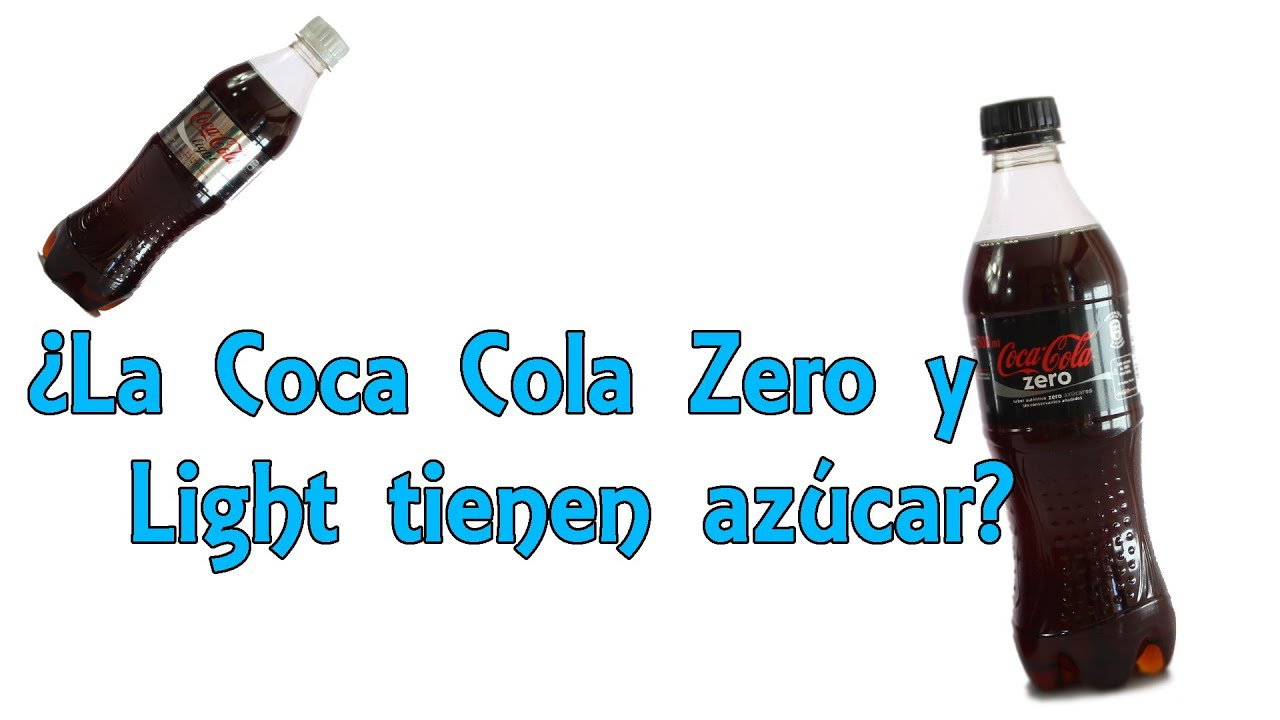 la coca cola zero y light tienen az car desvelando mitos experimentos caseros youtube. Black Bedroom Furniture Sets. Home Design Ideas