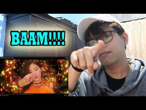 MOMOLAND 'BAAM' MV REACTION