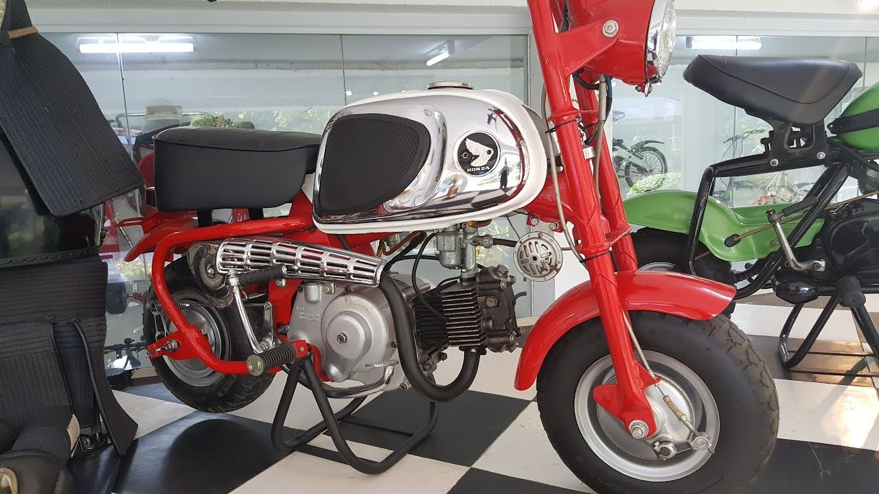 Honda Monkey Bike Collection In The Philippines Youtube