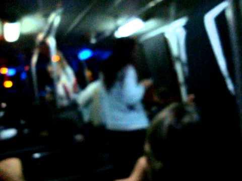 viaje en omnibus por Montevideo Uruguay