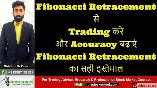 How To Use Fibonacci retracement  In Intraday Trading🚀