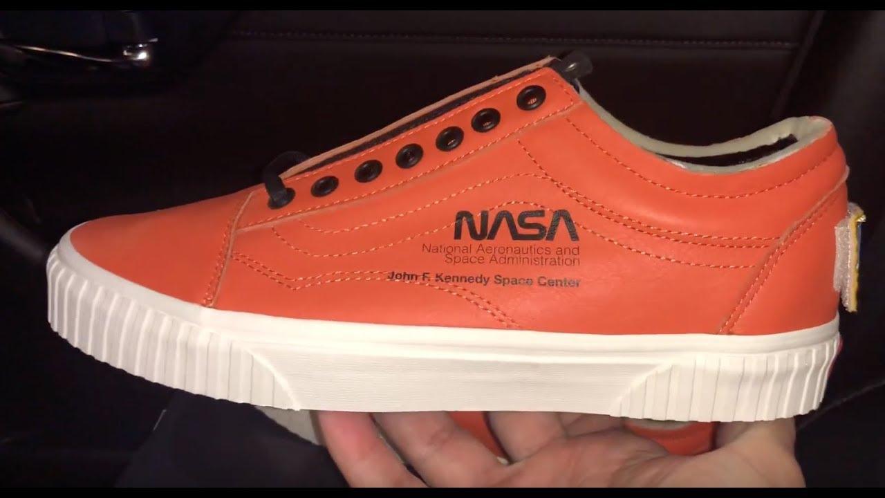 ce5bea72a97 Vans Old Skool Space Voyager NASA sneaker - YouTube