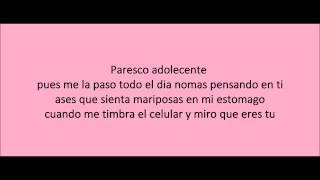 Y Esque te Quiero- La Maquinaria Nortena with lyrics, con letra