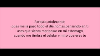 y esque te quiero la maquinaria nortena with lyrics con letra