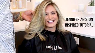 Jennifer Aniston Inspired Highlight Tutorial