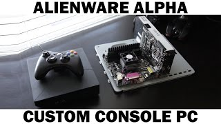 Alienware Alpha Vs Custom Gaming PC Graphics Comparison