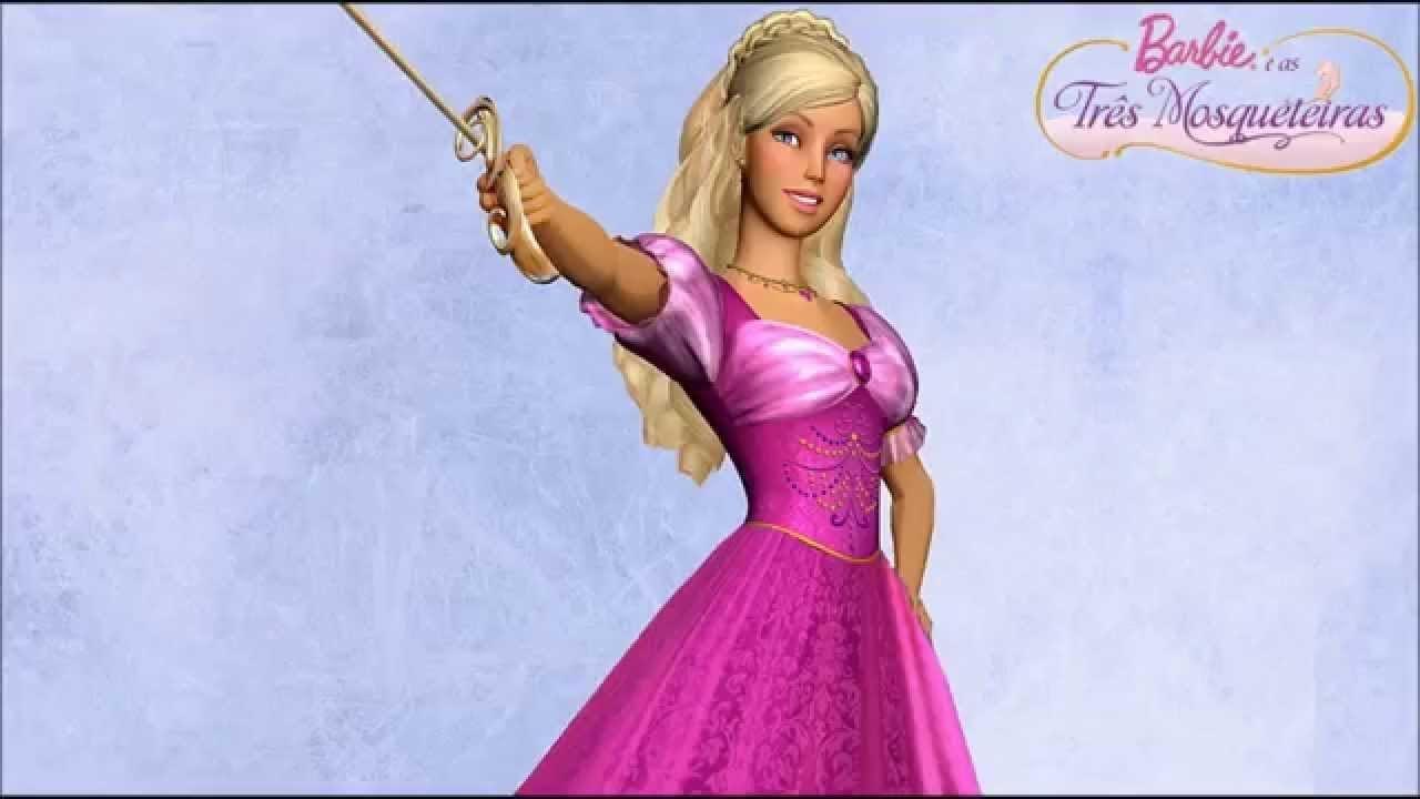 Barbie E As Tres Mosqueteiras Jogando No Wii Youtube