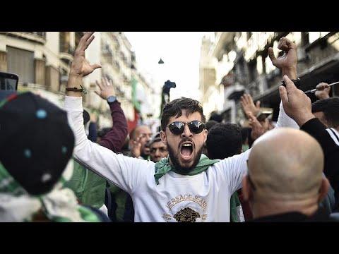 الحراك الشعبي في الجزائر يعد بمواصلة التظاهرات ويرفض استغلال الغاز الصخري…  - 22:59-2020 / 1 / 24