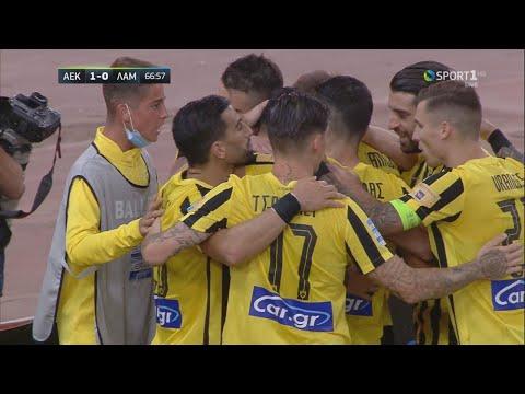 AEK Lamia Goals And Highlights