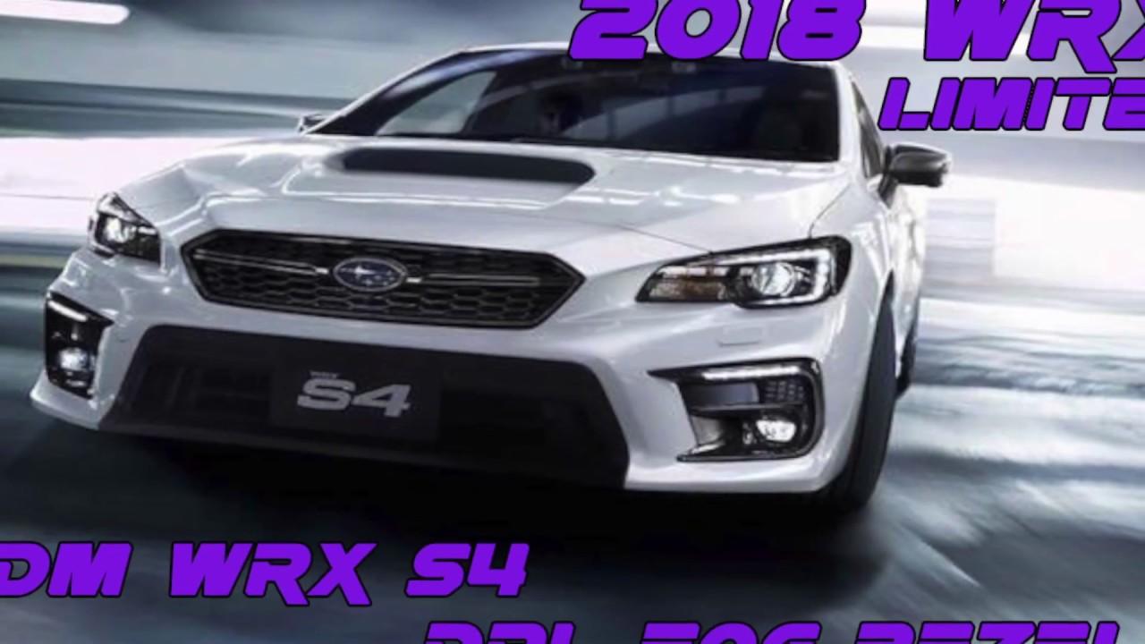 2018 WRX Limited/STI: JDM S4 DRL Fog Bezels Unboxing ...