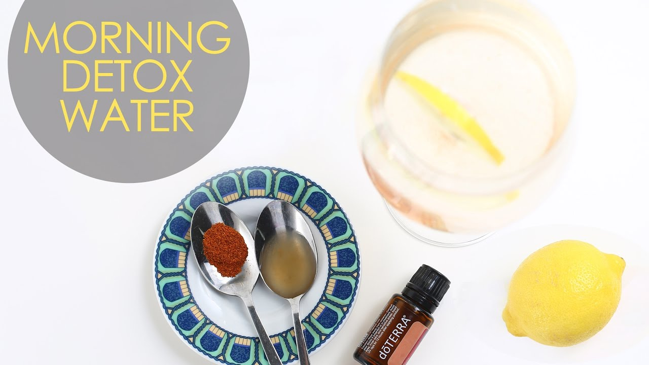 Morning Detox Water | Holistic Longevity