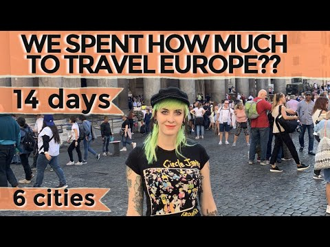 The REAL cost to travel in Europe | How to travel for cheap