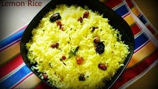 how to cook lemon rice न ब च वल by easycookingwithekta